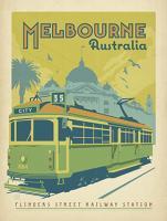 Vintage Advertising, Flinders Street Railway Station, Melbourne
