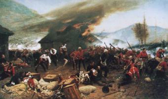 The Defence of Rorke's Drift, 1880 by Alphonse de Neuville