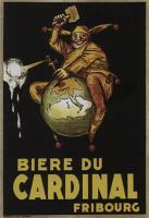 Vintage Advertising, Biere Du Cardinal by Achille Mauzan