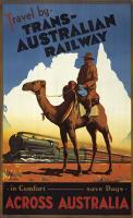Vintage, Travel by Trans-Australian Railway Across Australia
