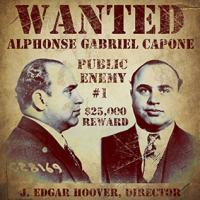 Vintage, FBI, Wanted, Al Capone, Public Enemy No. 1