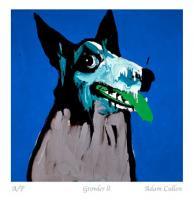 Growler ll by Adam Cullen