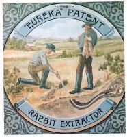 "The ""Eureka"" Patent, Rabbit Extractor"