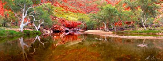 Ormiston Gorge, NT by Ken Duncan