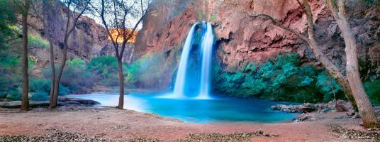 Hovasu Falls, Supai, Arizona, USA by Ken Duncan
