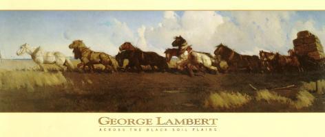 Across the Black Soil Plains by George Lambert