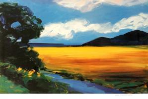 Golden Field by Ann Christensen