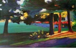 Glowing Trees by Ann Christensen
