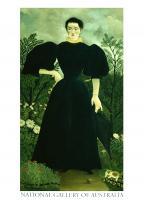 Portrait de Mme. M. (Portrait of Mme. M.), 1895 - 97 by Henri Julien Félix Rouss