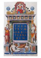 Title Page of Theatrum Orbis Terrarum by Abraham Ortelius