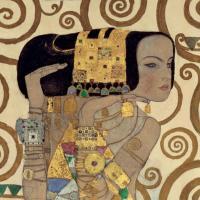 Expectation (detail) by Gustav Klimt