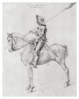 Man in Armor on Horseback by Albrecht Dürer